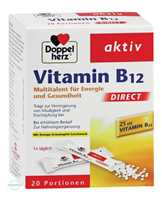 Doppelherz aktiv Vitamin B12 DIRECT Pellets Beutel