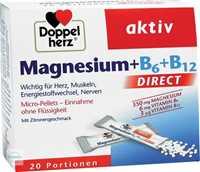Doppelherz aktiv Magnesium + B6 + B12 Direct Micro-Pellets