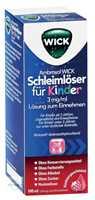 Ambroxol Wick Schleimlöser für Kinder 3 mg/ml Lösung zum Einnehmen