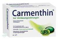 Carmenthin bei Verdauungsstörungen magensaftresistente Weichkapsel