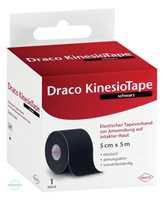 Draco KinesioTape 5m x5cm Schwarz