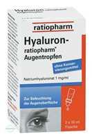 Hyaluron Ratiopharm Augentropfen (2x10 ml)