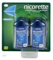 Nicorette freshmint 4 mg Lutschtabletten, gepresst