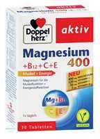 Doppelherz aktiv Magnesium 400+B12+C+E Tabletten
