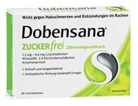 Dobensana Zuckerfrei Zitronengeschmack 1,2 mg/0,6 mg Lutschtabletten