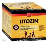 Litozin Hagebutte mit Kollagen Trinkfläschchen