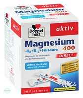 Doppelherz aktiv Magnesium + B Vitamine DIRECT Pellets