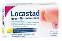 Locastad gegen Halsschmerzen Honig-Zitrone Lutschtabletten