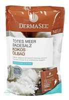 DERMASEL Spa Totes Meer Badesalz + Kokos Ölbad