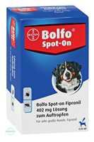 Bolfo Spot-On Fipronil 402 mg Lösung für sehr große Hunde