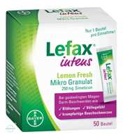 Lefax Intens Lemon fresh Mikro Granulat 250 mg Simeticon