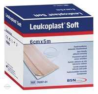 Leukoplast Soft Pflaster 6cmx5m Rolle