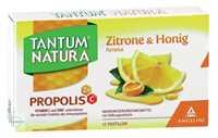 Tantum Natura Propolis mit Zitrone und Honig Aroma Lutschpastillen