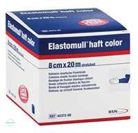Elastomull haft Color 20x8 cm blau Fixierbinde