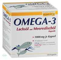 Omega 3 Lachsöl und Meeresfischöl Kapseln