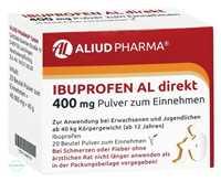 IBUPROFEN AL direkt 400 mg Pulver zum Einnehmen