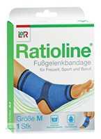 Ratioline active Fußgelenkbandage M (21-23 cm)