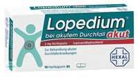 Lopedium Akut bei Durchfall Kapseln