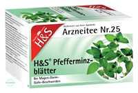 H&S Pfefferminzblätter Tee Beutel