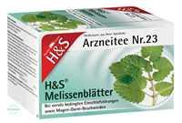 H&S Melissenblätter Tee Beutel