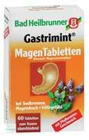 Bad Heilbrunner Gastrimint Magentabletten Kautabletten