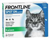 FRONTLINE Spot on Katze Lösung