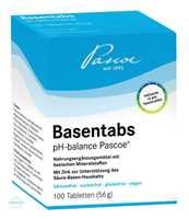 Basentabs pH Balance Pascoe