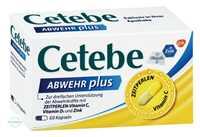 Cetebe Abwehr plus Vitamin C+Vitamin D3+Zink Kapseln