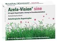 Azela Vision sine Augentropfen EDO 0,5 mg / ml (10 x 0,3 ml)