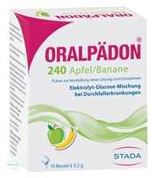 Oralpaedon 240 Apfel Banane Pulver Beutel