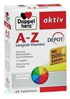 Doppelherz aktiv A-Z Depot Langzeit Vitamine Tabletten
