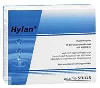 Hylan 0,65 ml Augentropfen Einzeldosispipetten