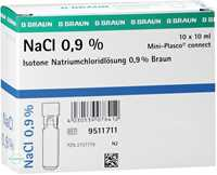 Kochsalzlösung 0,9% Miniplasco connect Ampullen (10x10 ml)