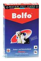 BOLFO Flohschutzband f.kleine Hunde u.Katzen