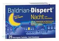 Baldrian Dispert Nacht zum Einschlafen