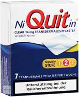 NiQuitin Clear 14 mg Pflaster transdermal