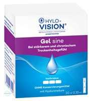 Hylo Vision Gel sine Augentropfen Einzeldosispipetten (20x0,35 ml)