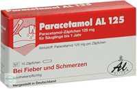 Paracetamol AL 125 Säuglings-Suppositorien
