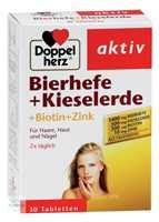 Doppelherz aktiv Bierhefe + Kieselerde Tabletten