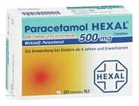 Paracetamol 500 mg Hexal bei Fieber und Schmerzen Tabletten