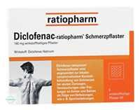 Diclofenac Ratiopharm Schmerzpflaster
