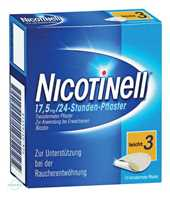 Nicotinell 17.5 mg 24 Stunden Pflaster