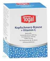 Togal Kopfschmerz Brause + Vitamin C Brausetabletten