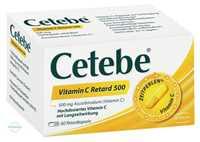 Cetebe Vitamin C Retard 500 Kapseln
