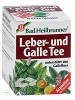 Bad Heilbrunner Leber und Galle Tee Filterbeutel