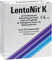 Lento Nit K Augentropfen (3x10 ml)
