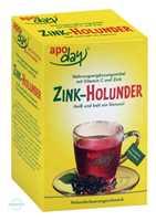 Apoday Holunder Zink + Vitamin C ohne Zuckerzusatz Pulver (10x10 g)