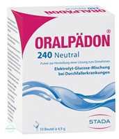 Oralpaedon 240 Neutral Pulver Beutel