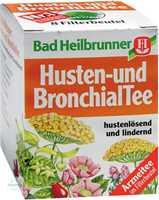 Bad Heilbrunner Husten- und Bronchial Tee N Filterbeutel