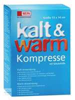 Kalt Warm Kompresse 13x14cm Wepa